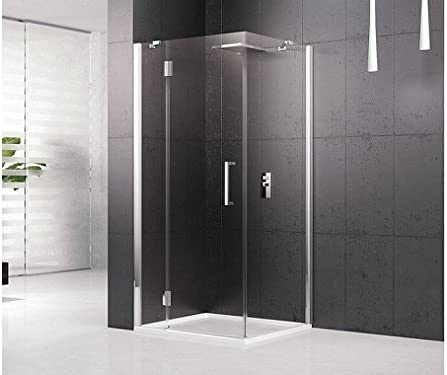 Novellini Box ducha Louvre GF Puerta Aldaba fijo de Linea y fijo lateral: Amazon.es: Hogar