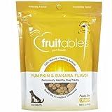 Fruitables Baked Dog Treats Pumpkin & Banana Flavor 7 Oz For Sale