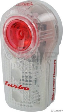 Planet Bike Superflash Turbo Bike Taillight, White/Red