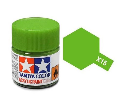 Tamiya Models X-15 Mini Acrylic Paint, Light Green
