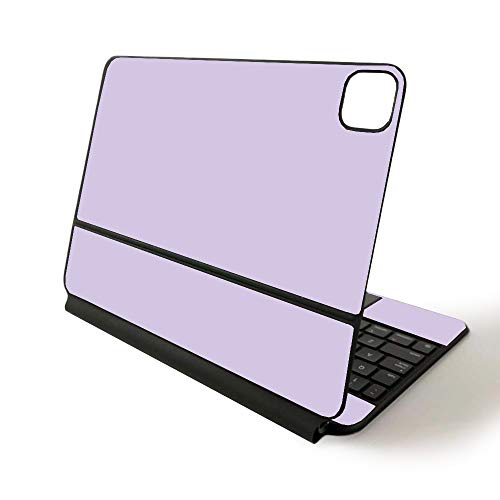MightySkins Skin for Apple Magic Keyboard for iPad Pro 11-inch (2020) - Sushi | Protective, Durable, and Unique Vinyl Decal wrap Cover, Solid Lilac (APIPSK1120-Solid Lilac)