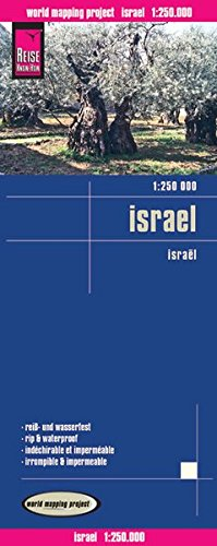 Reise Know-How Landkarte Israel (1:250.000): world mapping project