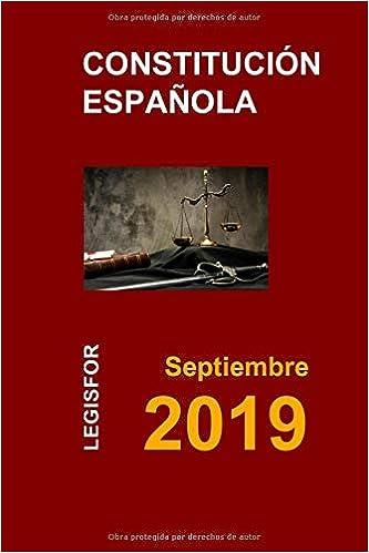 Constitución Española: edición 2017 Colección Textos Básicos Jurídicos: Amazon.es: Legisfor: Libros