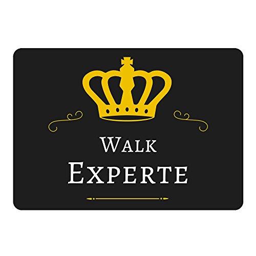 Mousepad Walk Experte schwarz