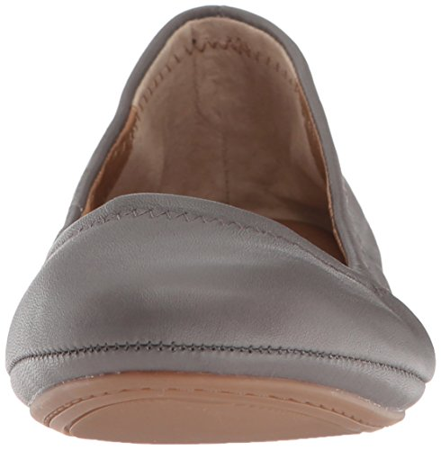 Lucky Brand Women's Emmie Ballet Flat, Titanium, 9 Medium US by Lucky Brand (Image #4)