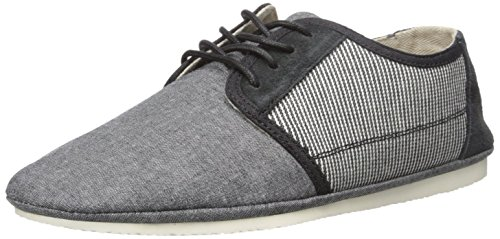 Aldo Men's Recenza Fashion Sneaker, Black Leather, 13 D US