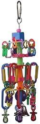 Super Bird Creations 9 by 3-Inch Cascade Bird Toy, Medium