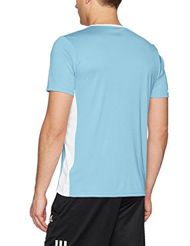 shirt 18 white Entrada Blue Clear Uomo Adidas T gqtpxv7w