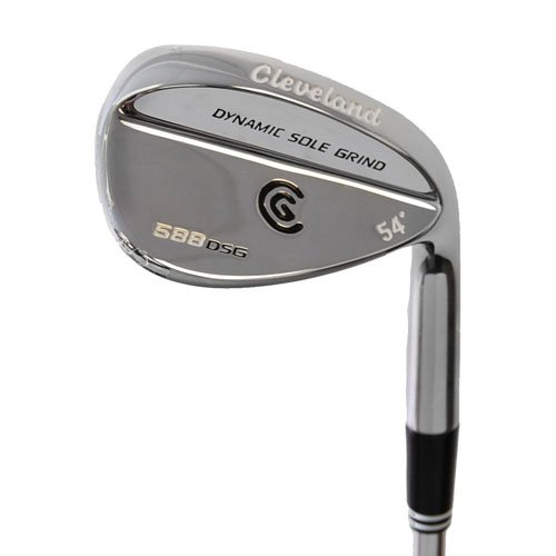 New Cleveland 588 DSG Chrome Wedge 54 NS PRO R-Flex Steel RH by Cleveland Golf