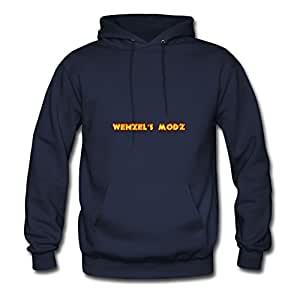 Wenzels Mods Styling X-large Sweatshirts Women Cotton For Navy