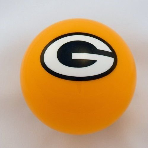(Officially Licensed Green Bay Packers Billiard Pool Cue Ball )