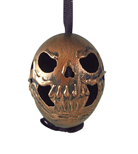 Skull Copper Handcrafted Eggshell Hanging Ornament (Denmark In Traditions Christmas)