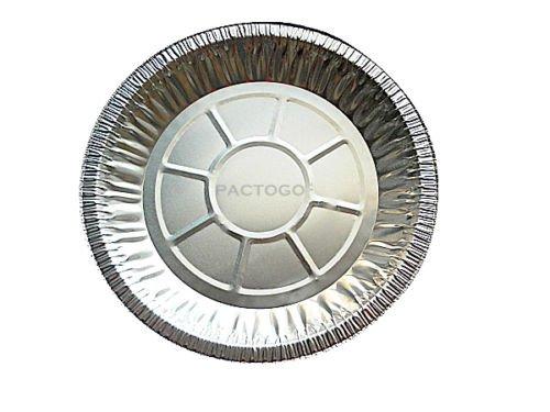 Durable Packaging 2600-40 10'' Deep Pie Pan, 9-5/8'' x 1-3/16'', 1.20'' Height, 9.60'' Width, 9.60'' Length (Pack of 500)