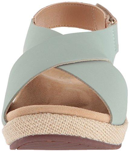 Marfa Women's Spenco Wedge Silt Sandal Green 4S4waxqC