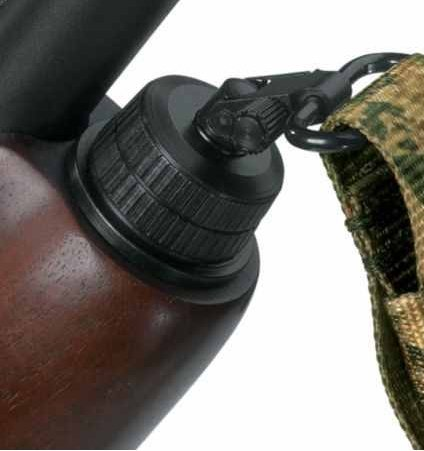 Ultimate Arms Gear Mossberg 500/500A/Maverick 88 12 Gauge Replacement Cap Swivel Base + 3/4'' Wood Stock Screw + Two QD Quick Detach 1'' Slot Swivel + Multi-Sling, Tan by Ultimate Arms Gear (Image #5)
