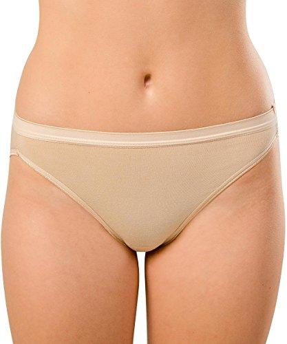 Knock out! Women's Cotton Bikini XSmall Nude