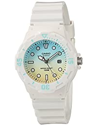 Casio Women's LRW-200H-2E2VCR Dive Series Analog Display Quartz White Watch