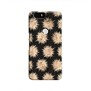 Cover It Up - Sand Star Black Nexus 6P Hard Case