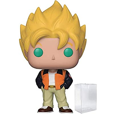 Funko Anime: Dragon Ball Z - Goku (Casual) Pop! Vinyl Figure (Includes Compatible Pop Box Protector Case): Toys & Games