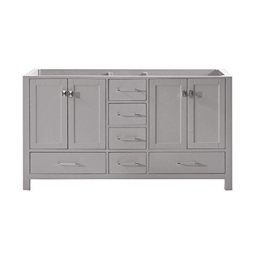 Cashmere Fixture (Virtu USA GD-50060-CAB-CG Caroline Avenue Cabinet, 60