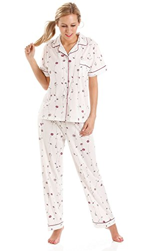 Olga da Donna Camicia Pyjamas Short Sleeve Lady notte RTwvqq