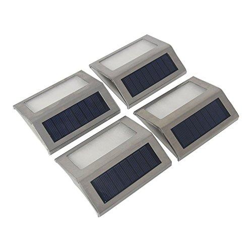 Half Moon Solar Deck Lights - 8