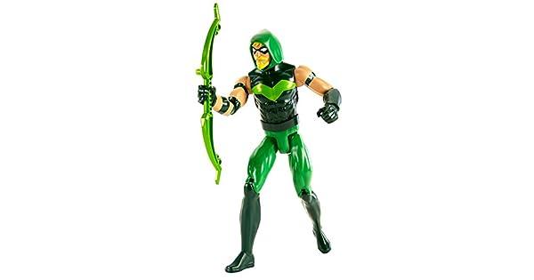 "DC Comics Justice League Green Arrow 12/"" Inch Action Figure Mattel NEW"