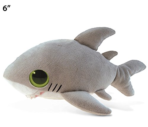 "Puzzled Big Eye Shark Plush, 6"" -  Puzzled Inc, 5228"