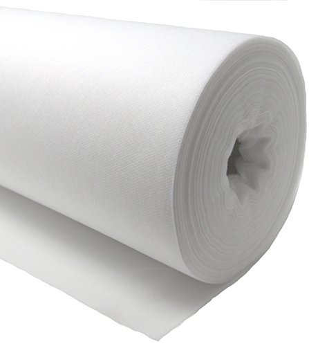 Axomi White Disposable Non-Woven Exam Bed Cover, 1 Perforated Roll, 55 Sheets, 24 Inches x 330 Feet