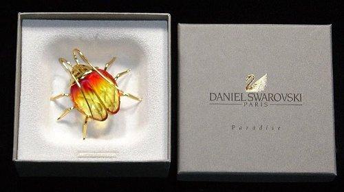 Daniel Swarovski Paradise Amazar Fire Opal Beetle