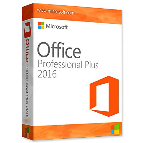 Microsoft Office 2016 Pro Plus 1pc Key + Download Link (not Disk)