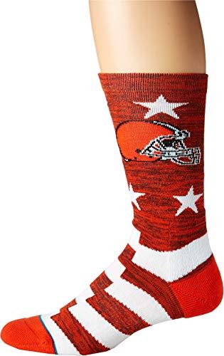 Stance Men's NFL Browns Banner Brown Large ()