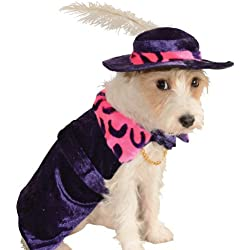 Rubie's Costume Co Mac Daddy Pet Costume, Medium
