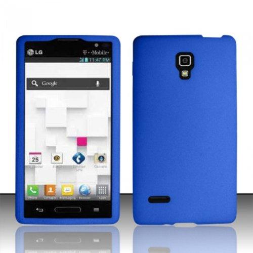 Bundle Accessory for T-Mobile LG Optimus L9 P769 / P760 - Blue Silicon Skin Soft Case Protector Cover + Lf Stylus Pen + Lf Screen Wiper