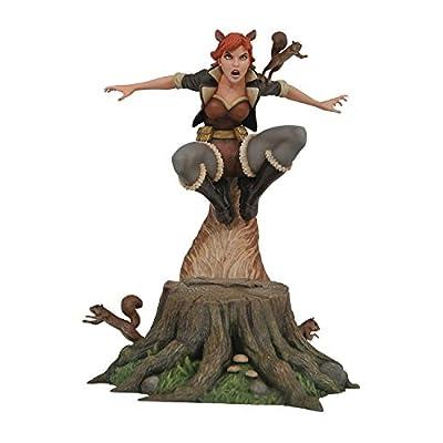 DIAMOND SELECT TOYS Marvel Comic Gallery: Squirrel Girl PVC Diorama Figure, Multicolor, 10