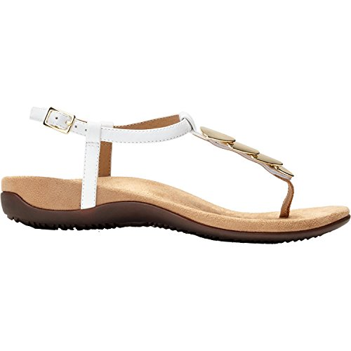 dbcff42b7223 Vionic Women s Rest Miami Toe-Post Sandal White 8 ...