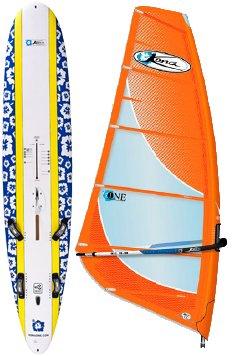 Kona One Board and 9.8 Kona Rig Complete by Kona Windsurfing