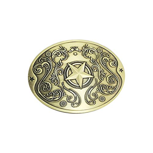 (Euone Clearance Sales,Metal Beer Headband Party Five-Pointed Star Shape Creative Belt Buckle Beer)