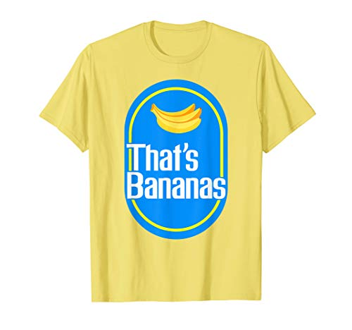 Funny bananas shirt THAT'S BANANAS t-shirt Halloween