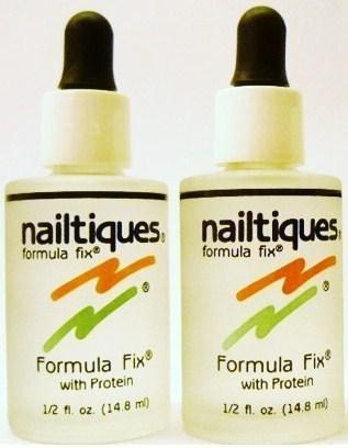 Protein Formula Fix by Nailtiques (0.5 oz./14.8 ml.) Each (Qty, Of 2 bottles) (Nailtiques Formula Fix)