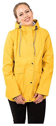 Impermeable Para Mujer Loomiloo Amarillo Abrigo BqvfwAx8p8