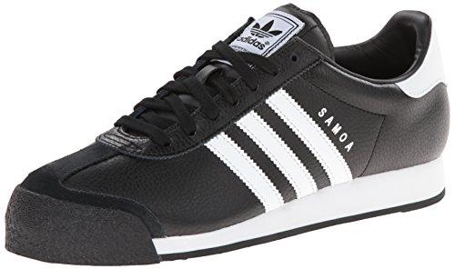 Adidas Originaler Menns Samoa Retro Sneaker Svart / Løper Hvit