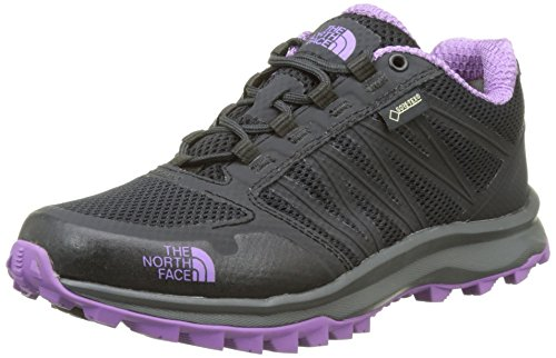 The North Face Damen Litewave Fastpack Gore-Tex Trekking-& Wanderhalbschuhe Grau (Phantom Grey/purple)