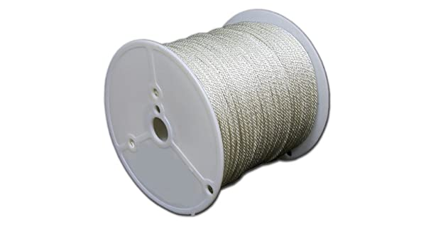 T.W Evans Cordage 44-160 1//2-Inch Solid Braid Nylon Rope 80-Feet Spool T.W Evans Cordage Co.
