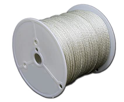 TW Evans Cordage 44-620 3/16-Inch Solid Braid Nylon Rope 200-Feet Spool