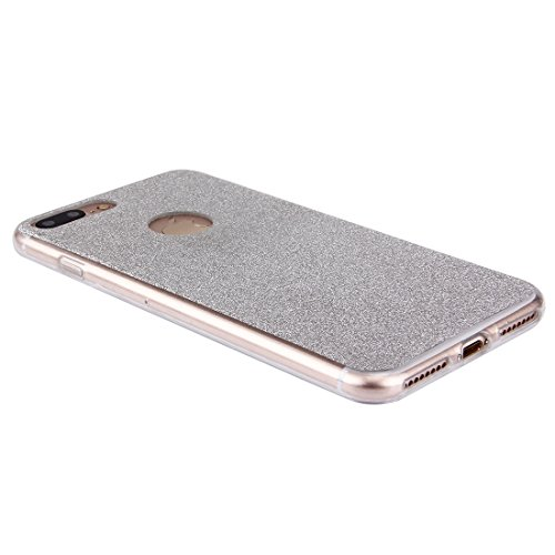 MXNET IPhone 7 Plus Case, Glitzer Powder Soft TPU Schutzhülle CASE FÜR IPHONE 7 PLUS ( Color : Silver )