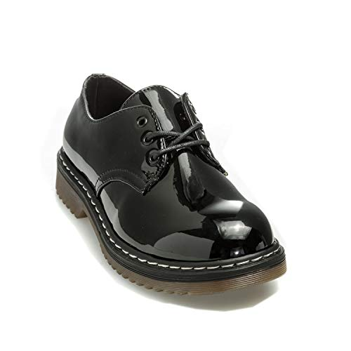Patent Derbies Truffle Noir Femme Collection pngvxg1U
