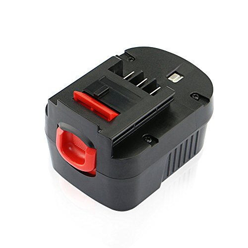 efluky 3.0Ah 12V HPB12 Replacement Battery for Black ...