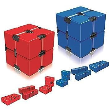 Amazon.com: Ganowo Infinity Cube Fidget - Juguete para niños ...