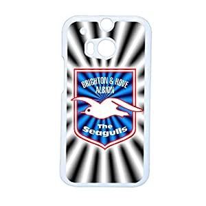 Friendly Back Phone Case For Man Printing With Brighton And Hove Albion Football Club For Htc One M8 Choose Design 2
